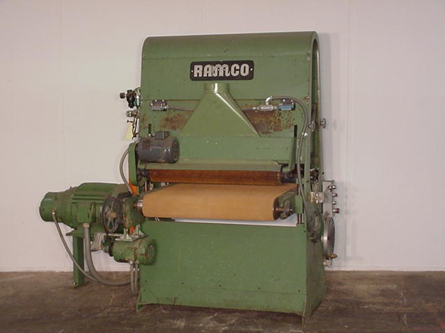 Used Ramco Single Head Wide Belt Sander - Model 36 - Photo 1