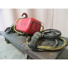 Used Little Mule 2 Ton Electric Chain Hoist – Model FEL 555 - Photo 1